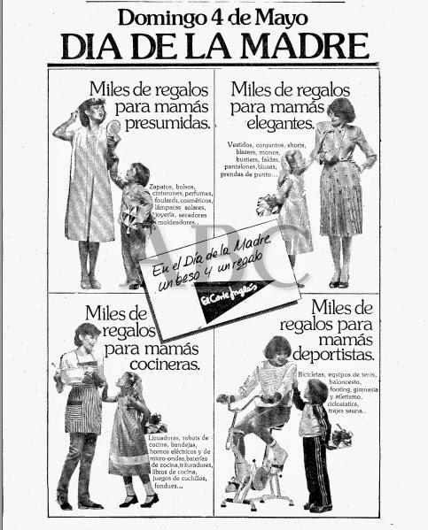 Recordando la publicidad: La publicidad del Día de la Madre.