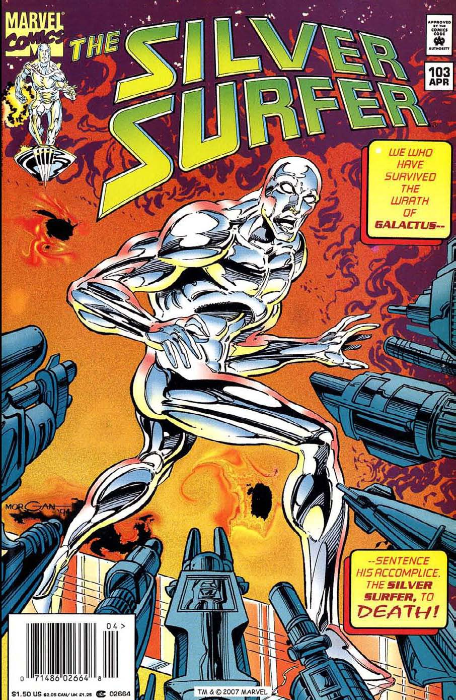 Silver Surfer (1987) Issue #103 #111 - English 1