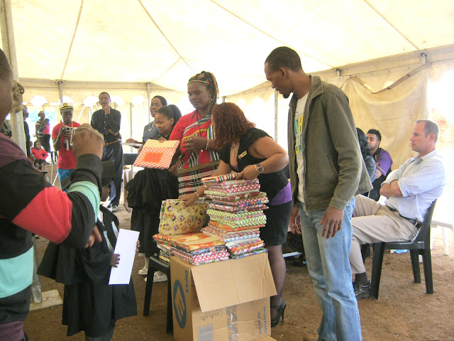 Hollywoodbets Boksburg & Brakpan donated stationery and uniforms to Oliver's House - CSI - Social Responsibility