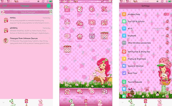 Oppo Theme: Oppo Strawberry Shortcake Theme