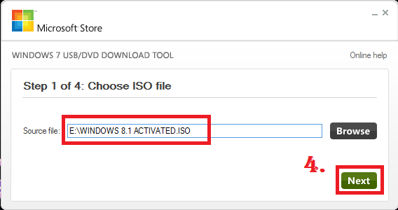 MAKE WINDOWS BOOTABLE PEN DRIVE FROM .ISO IMAGE FILE nkworld4u