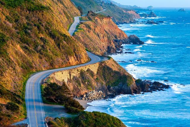 Dirigir nas estradas na Califórnia