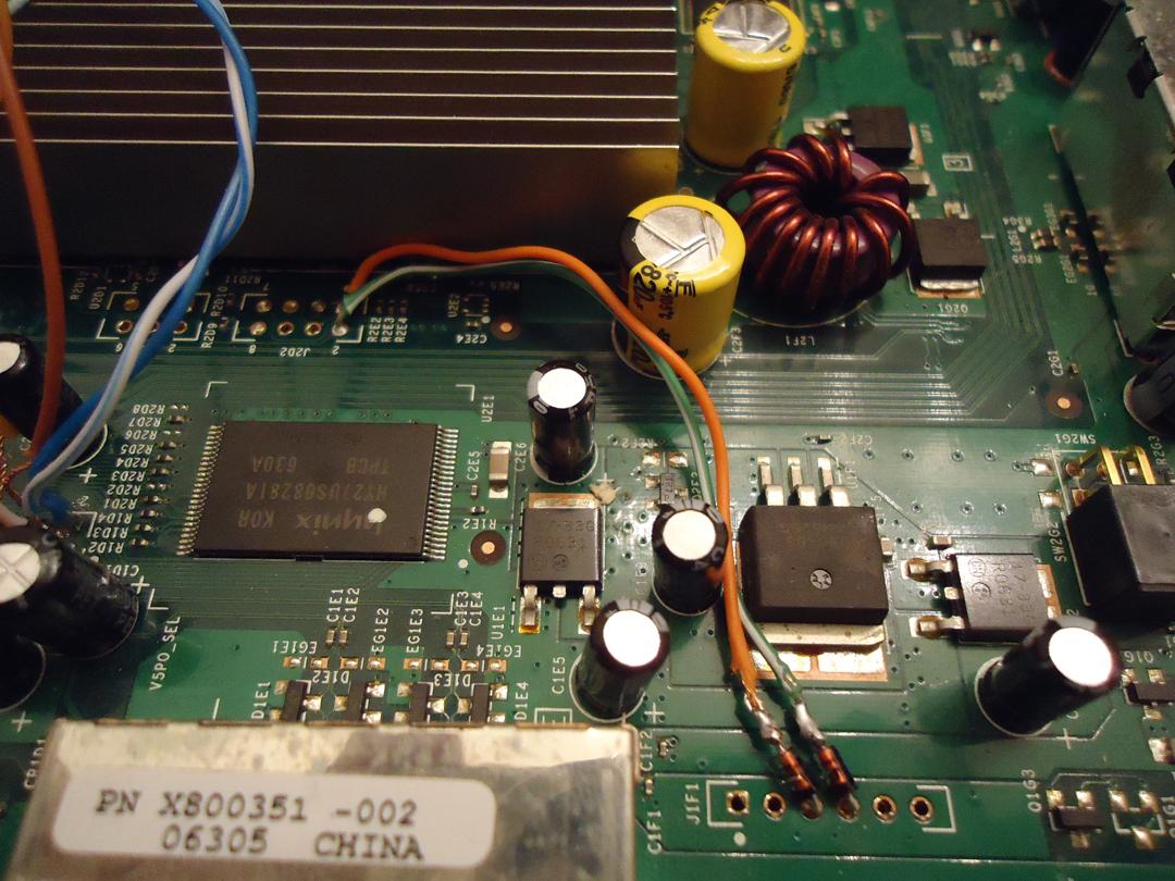 xbox 360 r jtag wiring diagram diygaming: jtag an xbox 360: wiring the jtag mod [part 4] xbox 360 to rca wiring diagram #5