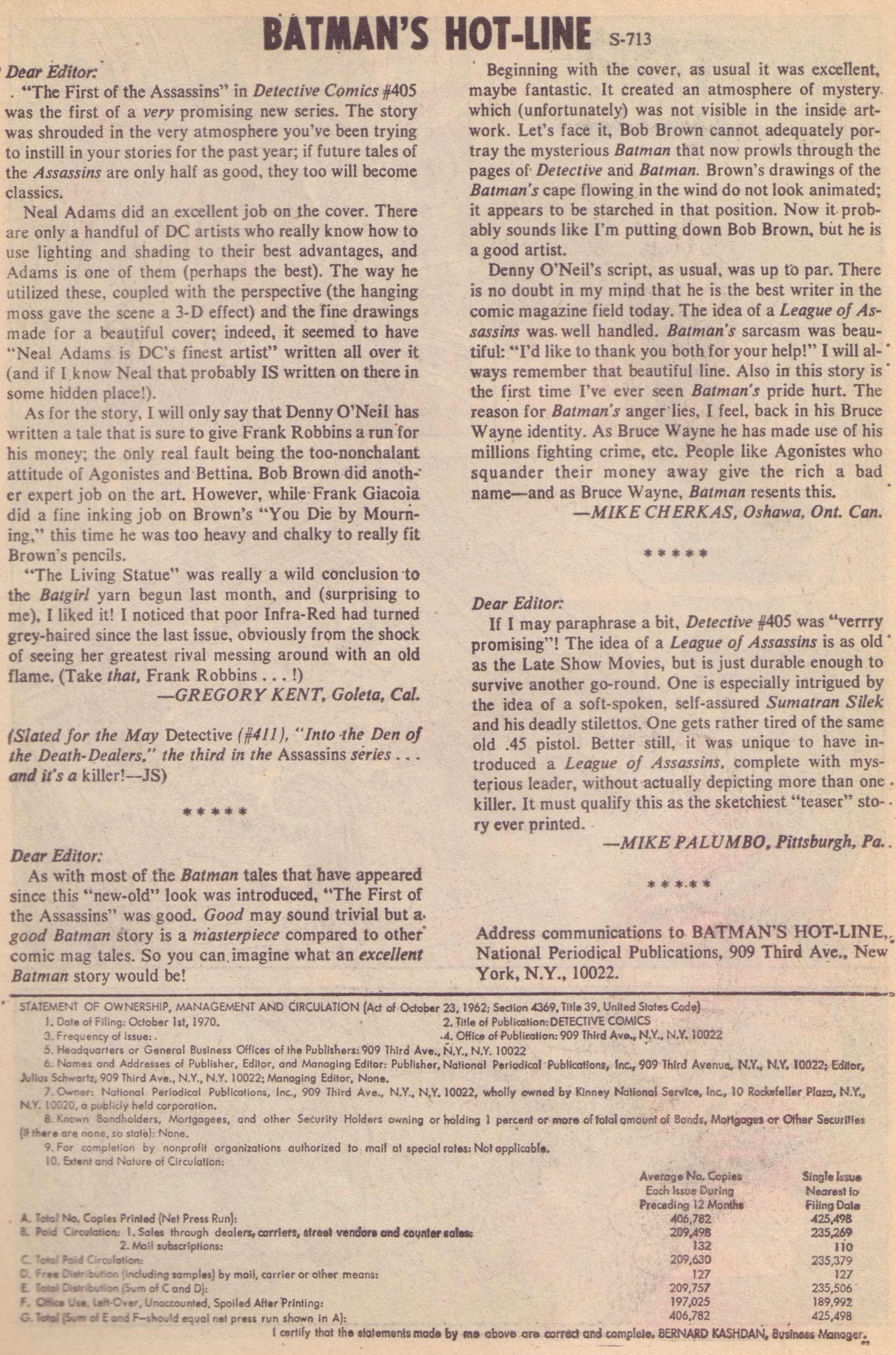 Detective Comics (1937) 409 Page 21