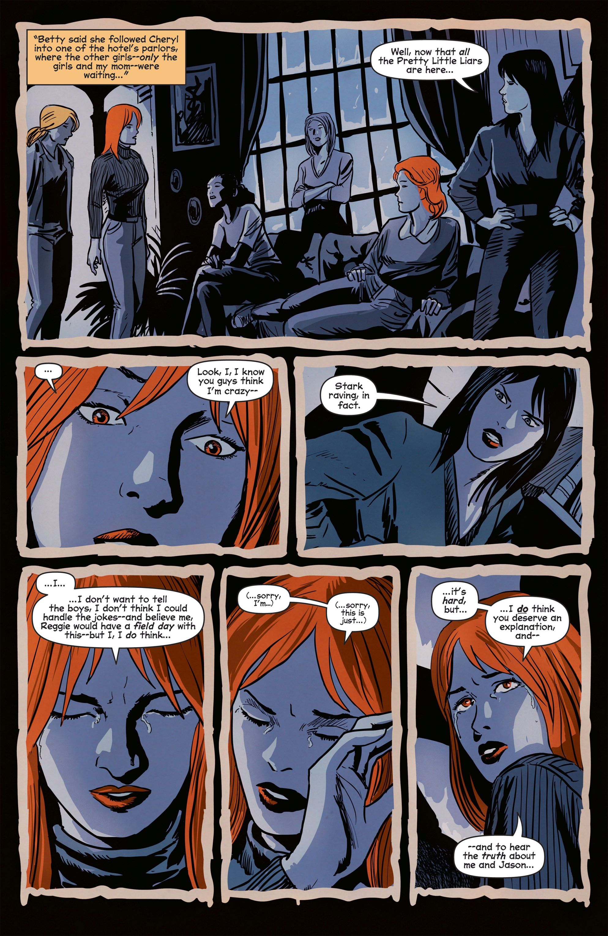 Read online Afterlife with Archie comic -  Issue #8 - 15