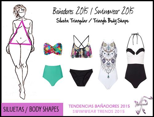 Swimwear Triangle Body Shape