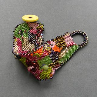 купить яркий браслет из бисера необычные украшения уникальный браслет