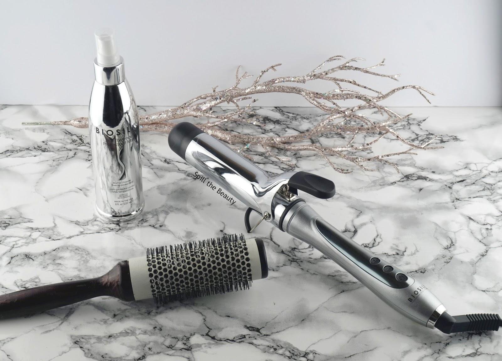 Biosilk 1.5 inch titanium curling iron review