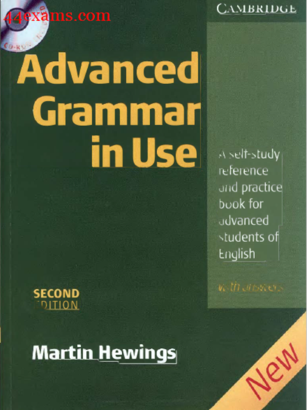 Advanced Grammar in Use 2nd Edition By Martin Hewings : For All Competitive Exam PDF Book