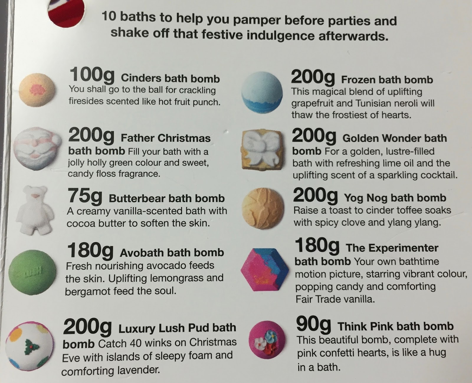 all things lush uk christmas bathtime favourites gift set