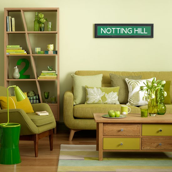 Green Decor For Living Room: Modern Furniture: Decorating Living Room With Mint Green