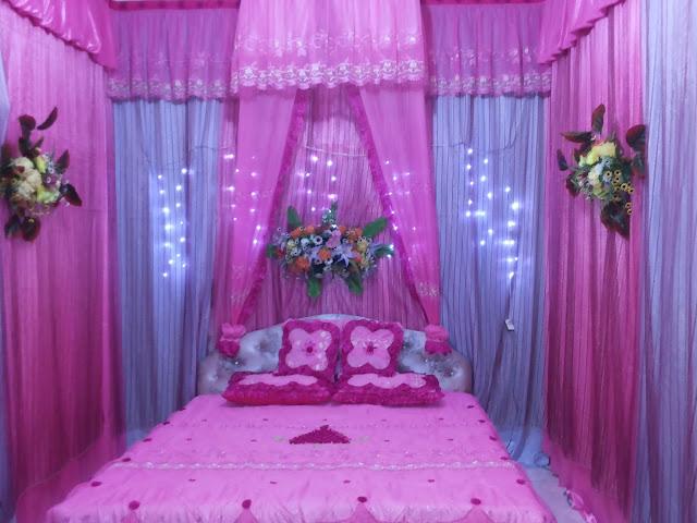 Kamar pengantin sederhana