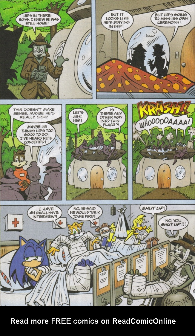 Read online Sonic The Hedgehog comic -  Issue #167 - 32