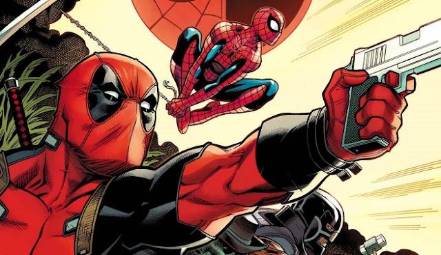 homem aranha e deadpool