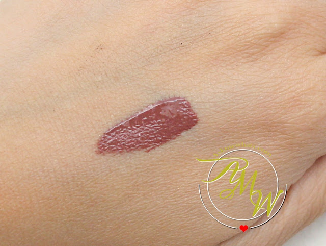 a swatch photo of Inglot What A Spice Collection HD Lip Tint Matte shade 37