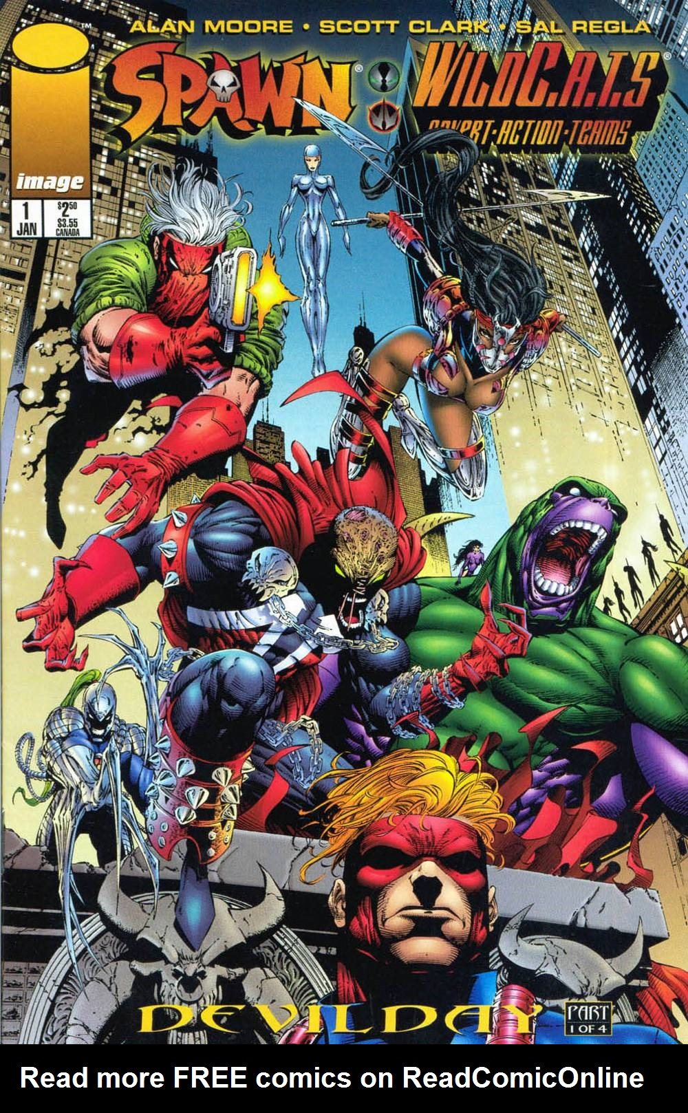 Spawn/WildC.A.T.S issue 1 - Page 1