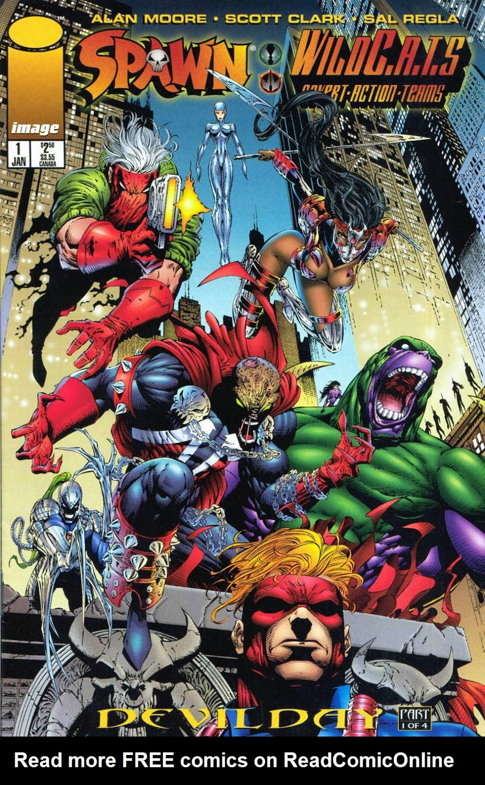 Spawn/WildC.A.T.s Issue #1 #1 - English 1