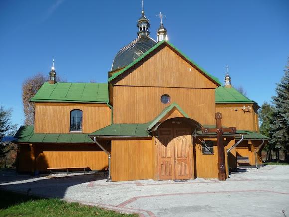 Верхние Гаи. Церковь Пресвятой Троицы. 1910 г.