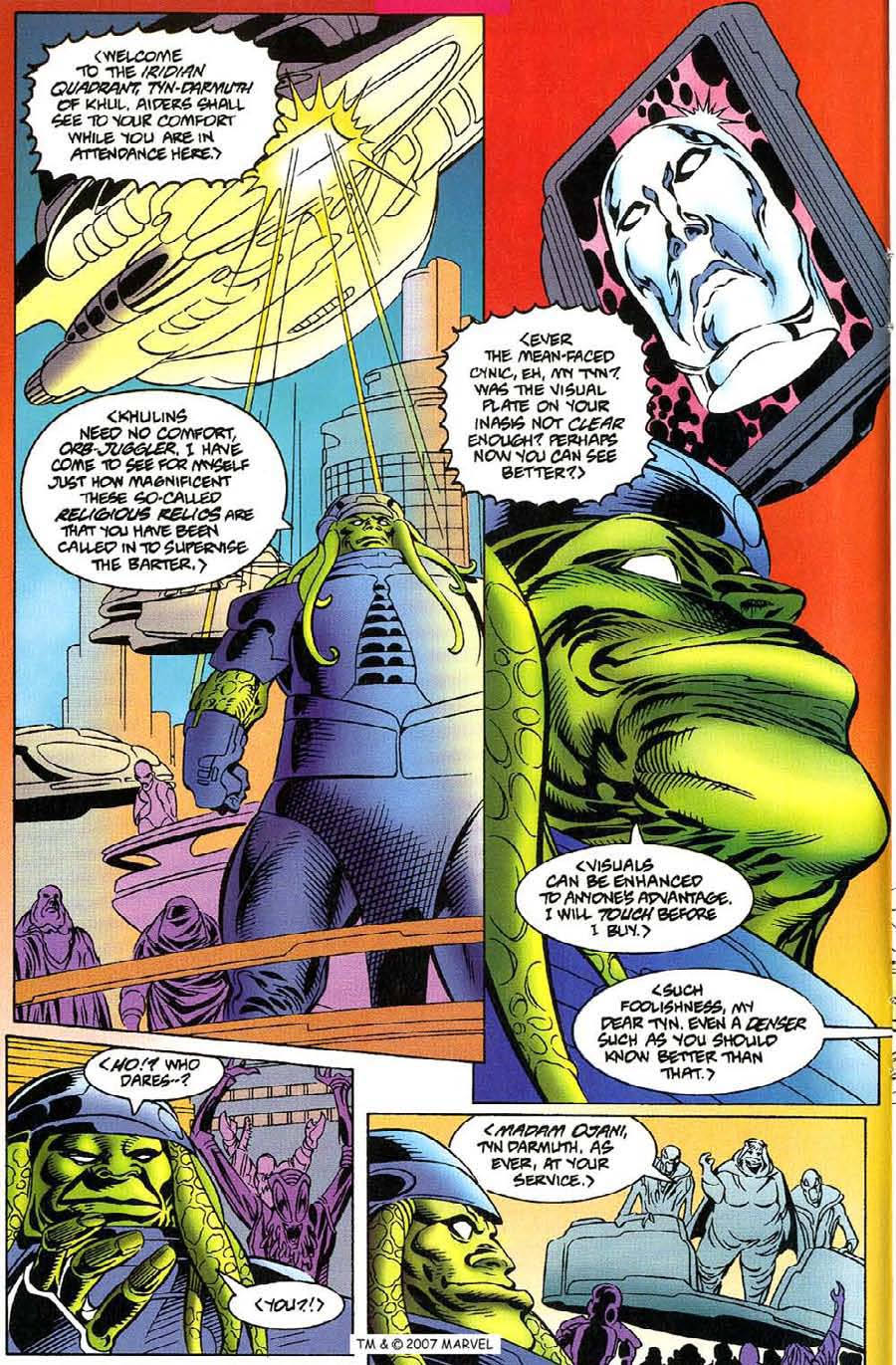 Read online Silver Surfer (1987) comic -  Issue #115 - 8