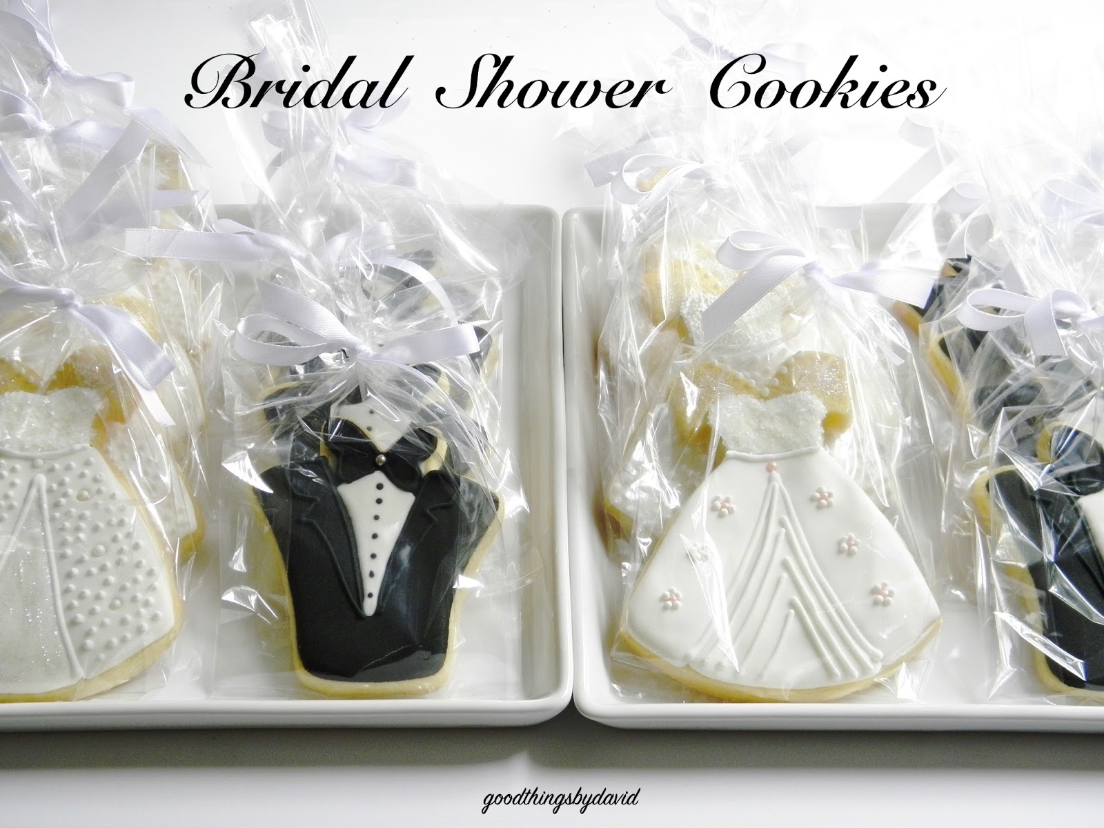 Good Things by David: Bridal Shower Cookies