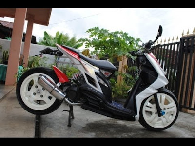 honda beat modifikasi repsol
