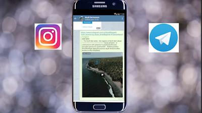 Cara Mudah Simpan Video Instagram Melalui Telegram di Android