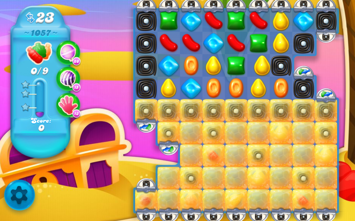 Candy Crush Soda Saga level 1057