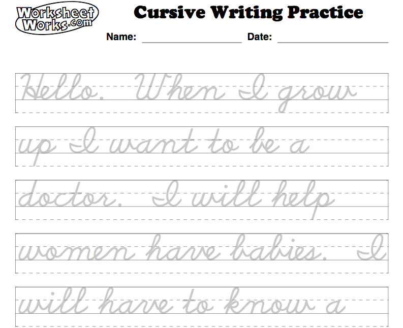how to write my name in cursive Cursive handwriting practice practice writing words in standard cursive this page allows you to create a worksheet of text for cursive writing practice.