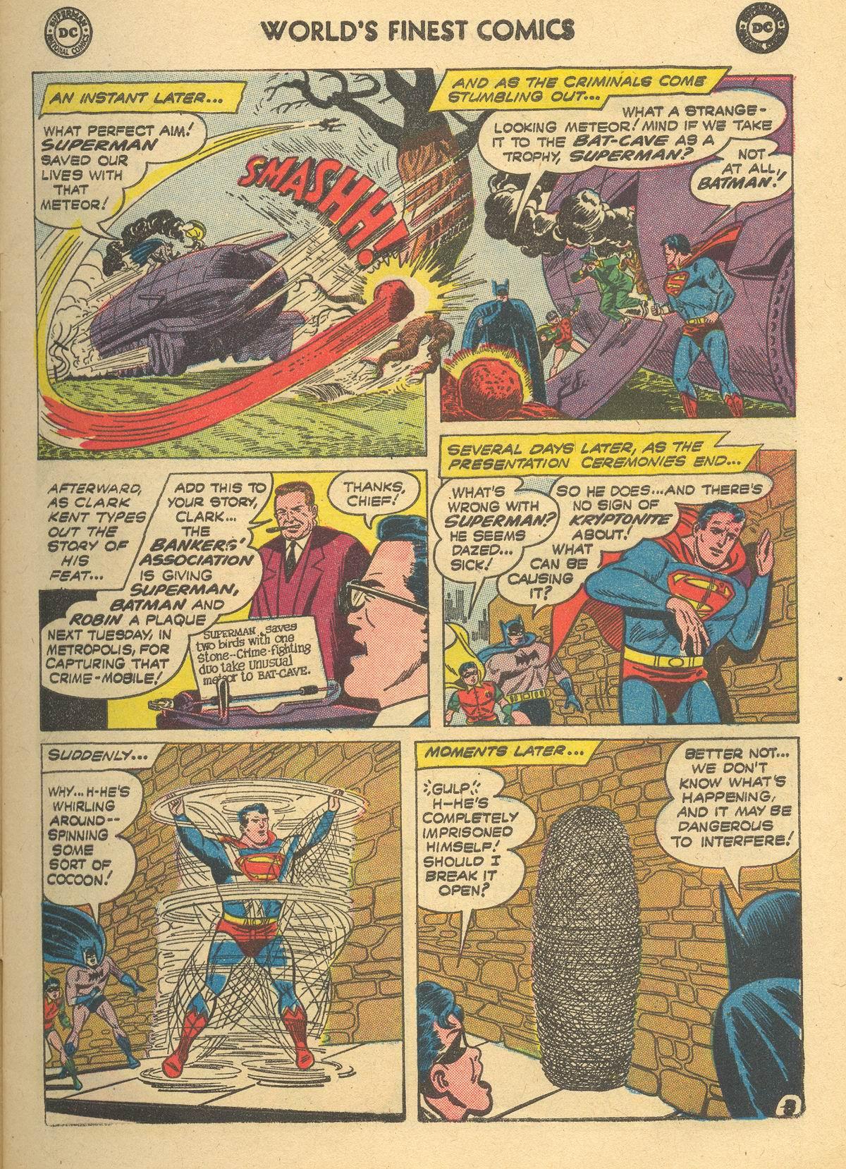 Read online World's Finest Comics comic -  Issue #105 - 5