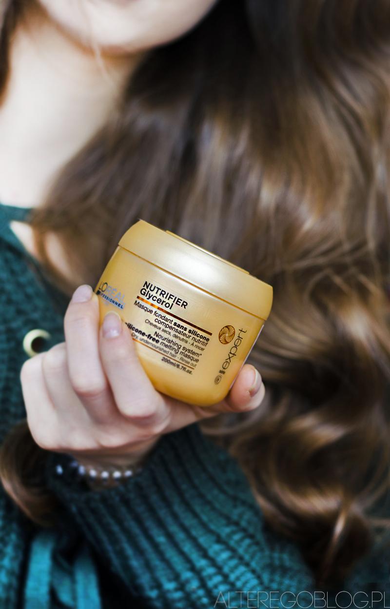 profesjonalne kosmetyki do wlosow, blog urodowy, blog o kosmetykach, recenzja, loreal nutrifier, loreal nutrifier maska