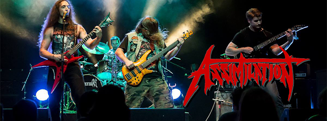 Assimilation, Death/Thrash Metal Band from Canada, Assimilation Death/Thrash Metal Band from Canada