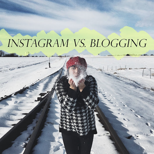 2018 Debate | Instagram or Blogging?