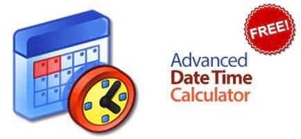 Bản quyền miễn phí Advanced Date Time Calculator, tính toán thời gian từ 16/3