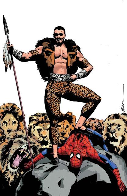 Kraven villano de Spiderman