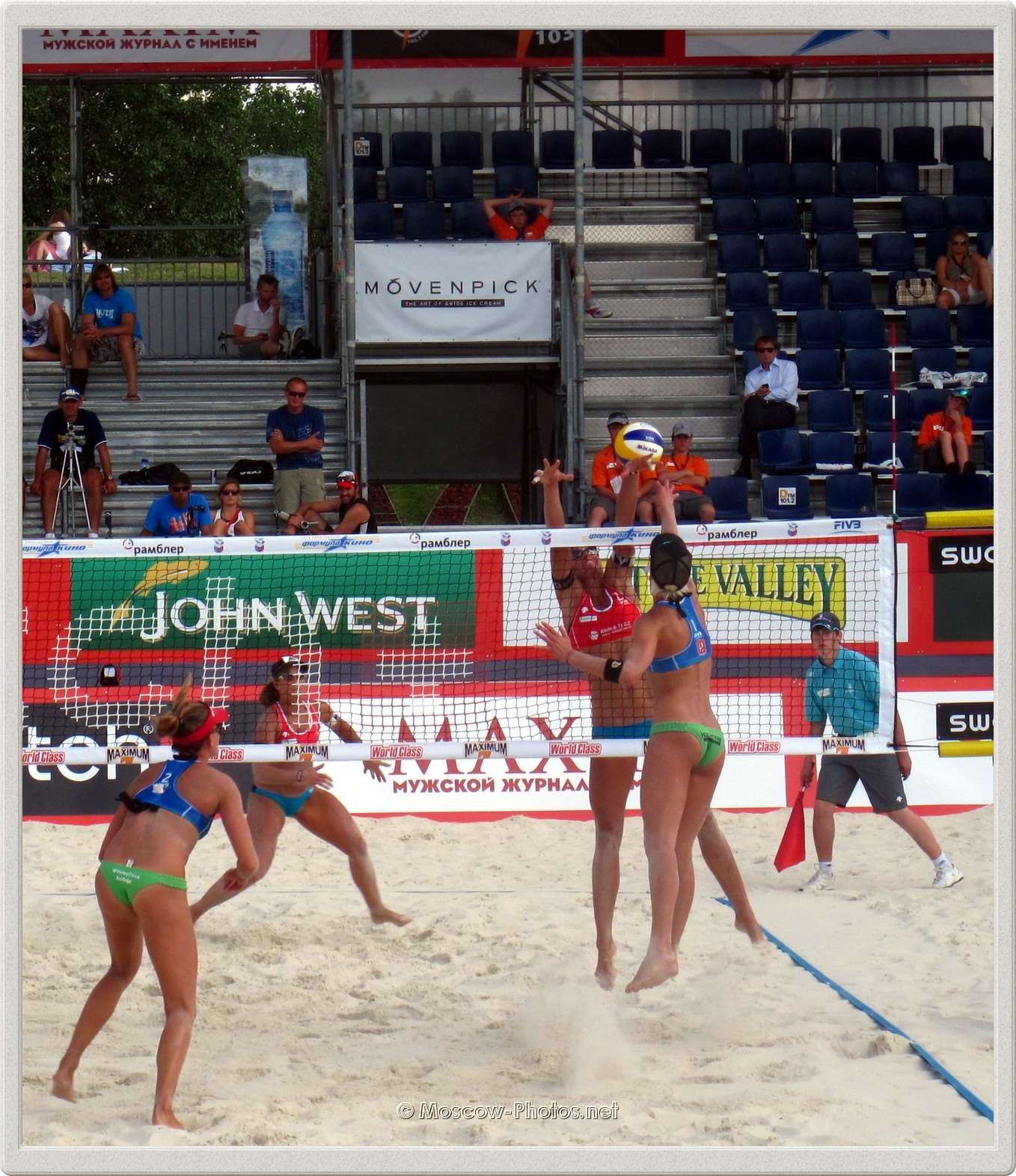Fake Spike of Brittany Hochevar (USA)