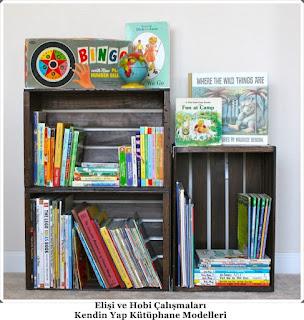 Kütüphane Modelleri - Elişi Dekorasyon  11