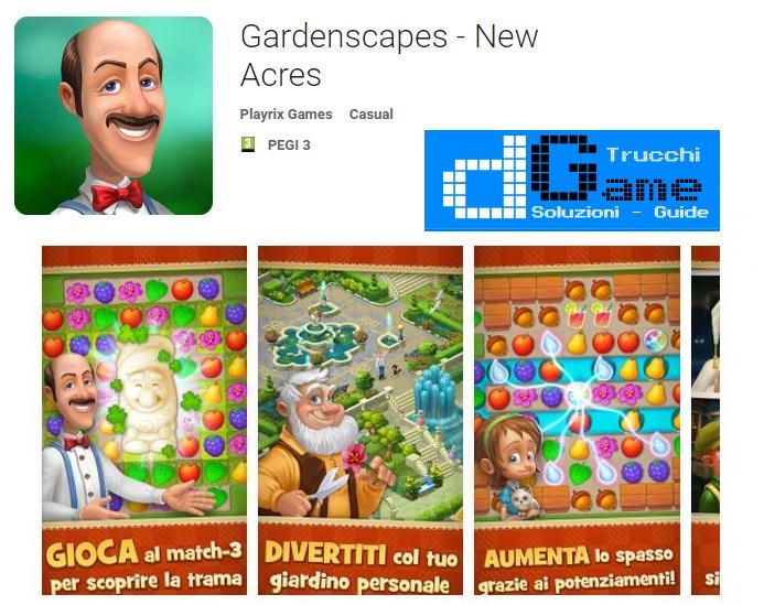 Gardenscapes - New Acres APK MOD con trucchi potenziamenti infiniti