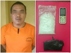 Transaksi Narkoba di Toilet Umum, Warga Baganbatu Diciduk Polisi