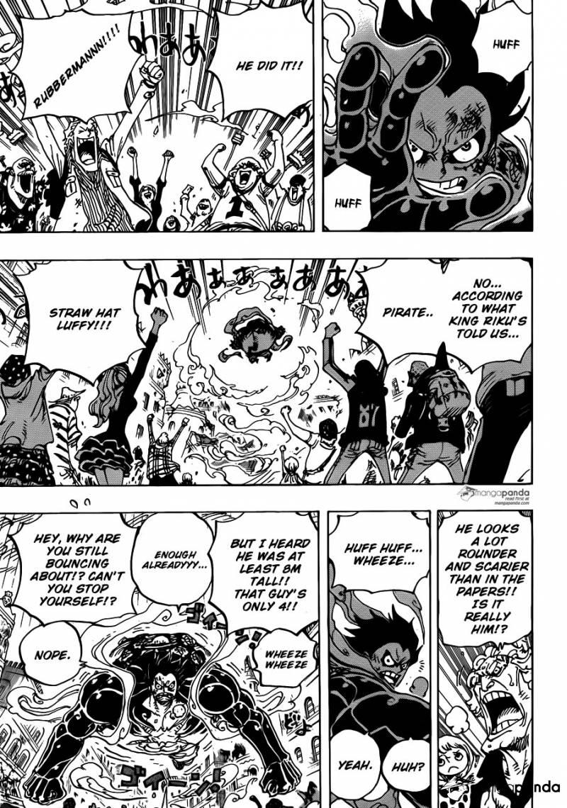 One Piece Ch 786: Gatz