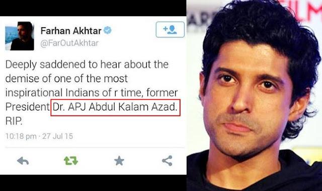farhan akhtar twitter trolled
