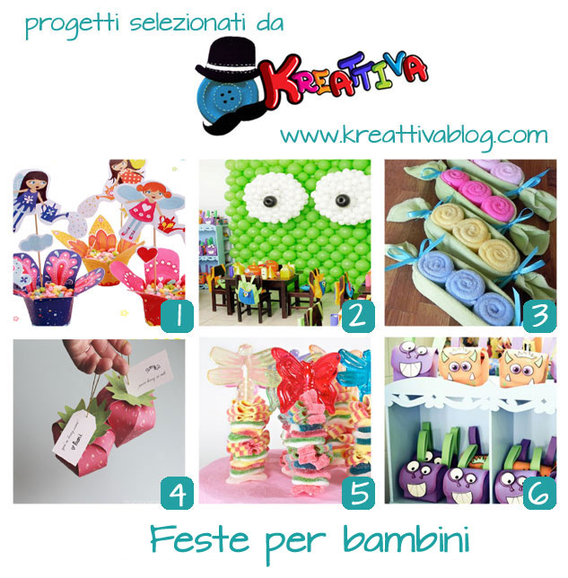 feste bambini creativi