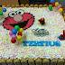 Tertius Elmo Birthday cake