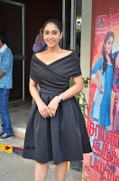 Actress Regina Candra Pos in Beautiful Black Short Dress at Saravanan Irukka Bayamaen Tamil Movie Press Meet  0031.jpg