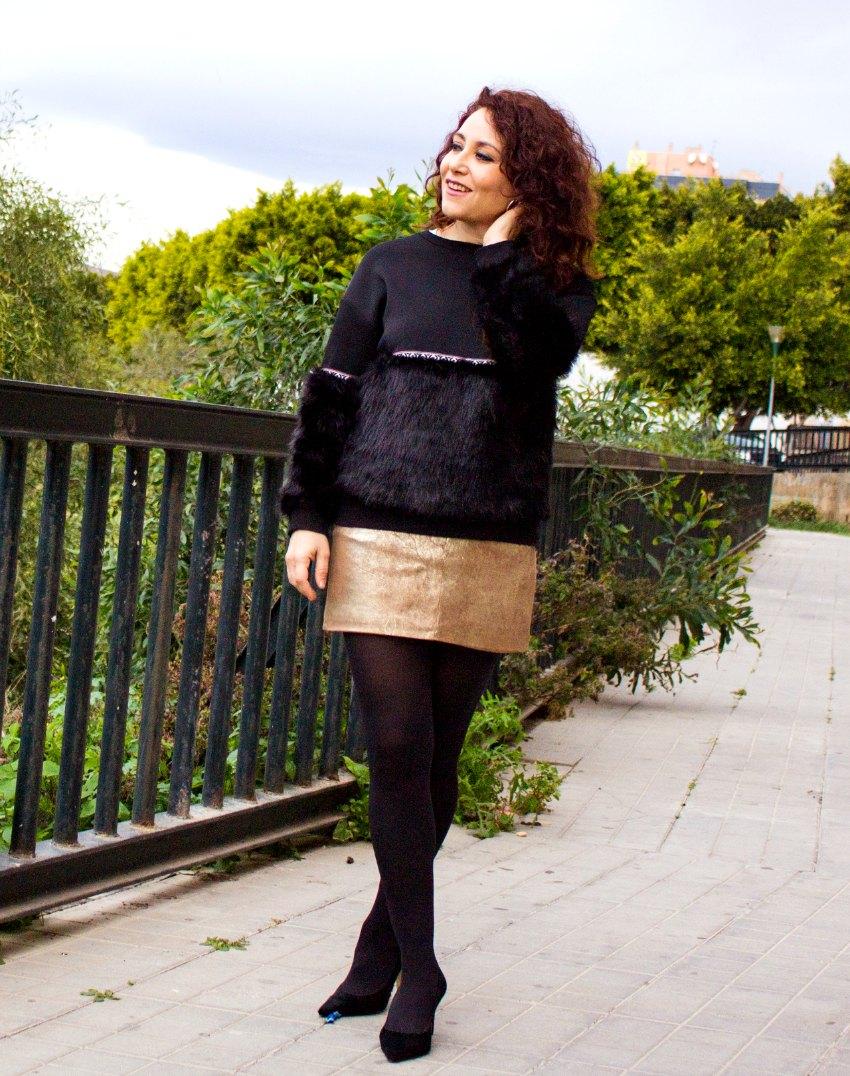 melange_boutique_fashion_blog_de_moda_sudadera_boho_pelo_chic_outfit_falda_metalica_shein_mango_kaidandizo_antonioborjafotografos_11