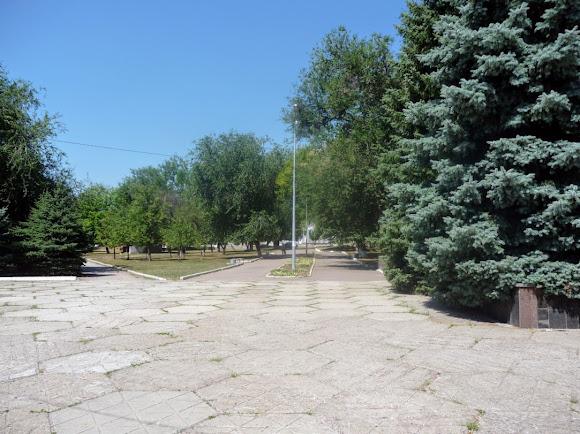 Васильківка. Парк