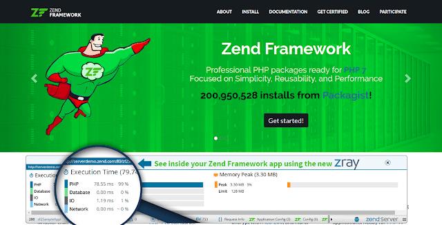 framework php terbaik zend