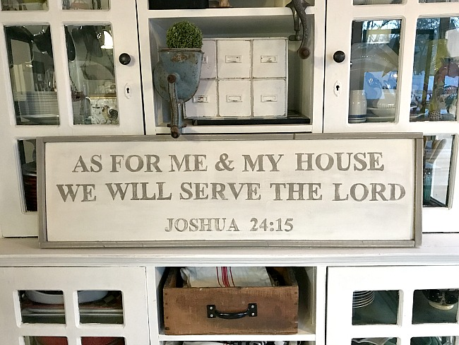 Rustic Farmhouse bible verse sign