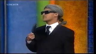 Michael Dierks als Marco Mommsen (Karl Lagerfeld) TV.Kaiser