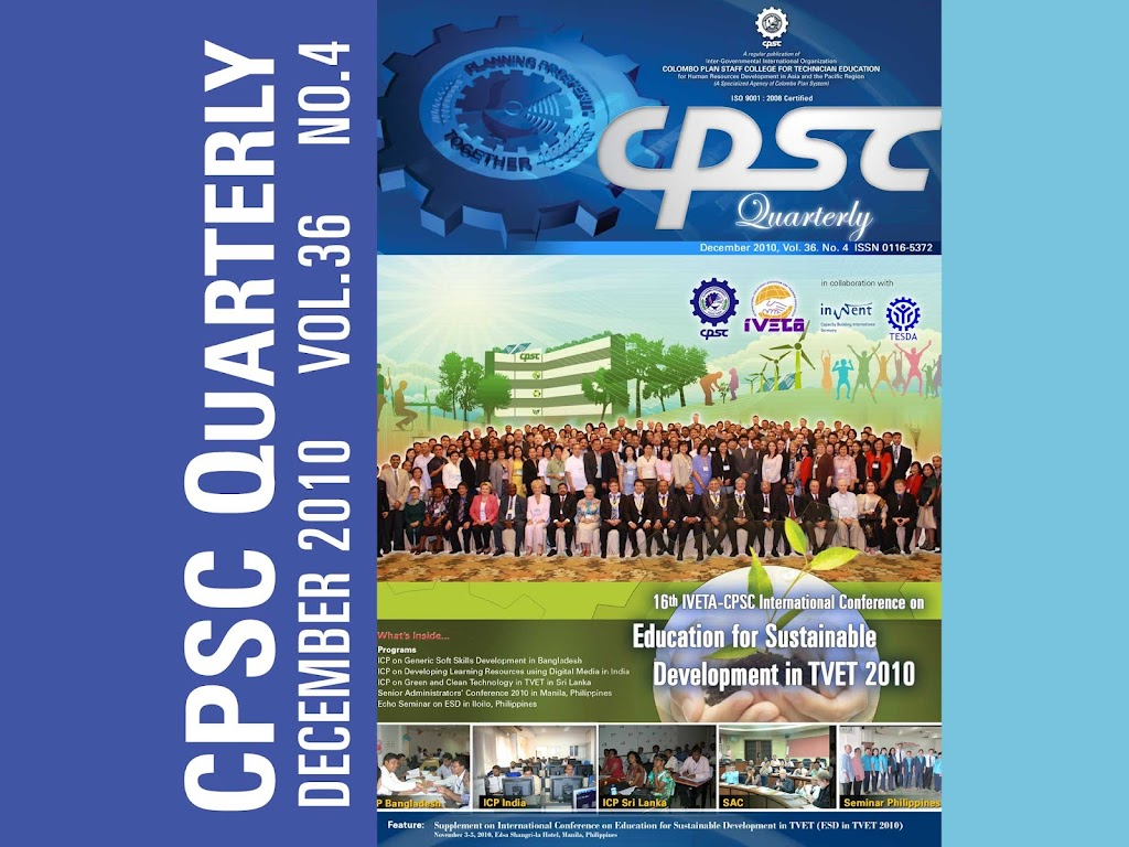 CPSC Quarterly December 2010