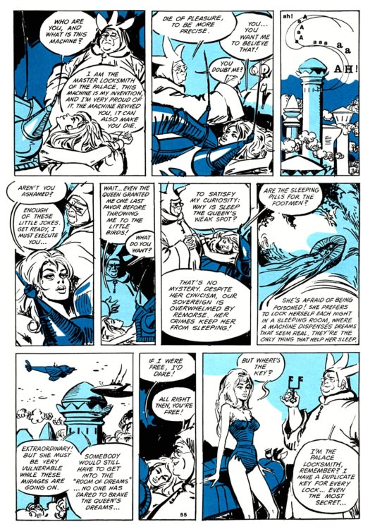 Atomic Kommie Comics: Reading Room: BARBARELLA 4.2